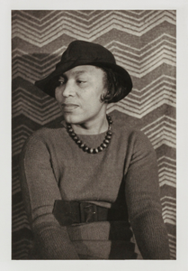 """Zora Neale Hurston, from the unrealized portfolio """"Noble Black Women: The Harlem Renaissance and After"""""""