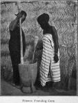 Women pounding corn