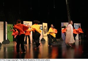 Dancers on Stage Performing Hip Hop Broadway: The Musical