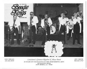 [Photograph of the Boogie Kings Performing Onstage]