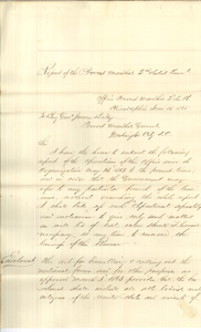 Historical Report of the Provost Marshal General for the Eastern Division of Pennsylvania, 2nd Congressional District