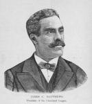 James C. Matthews; President of the Cleveland League