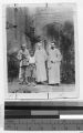 Old Mr. Yang and two Catholic missioners, China, ca. 1920-1940