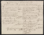 Account, Cornelis Pijl / de Mey