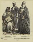 Beduinen--Musikant ; Sklavin ; Strassen--Kledung
