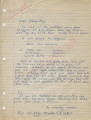 """""""An admiring admirer"""" to Jimmy Boy (11 October 1962)"""