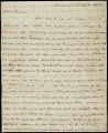 William B. Bulloch letter to D. B. Mitchell, 1807