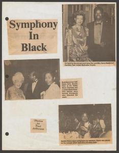 Clipping: Symphony in Black Symphony in Black - Symphonic Jubilee - News