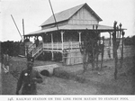 Railway station on the line from Matadi to Stanley Pool