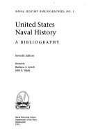 United States naval history : a bibliography