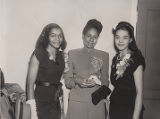 Rachel Robinson, Mrs. Percy Davis and Mary Mallory at White Rock Baptist Church