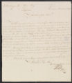 Letter, application for administrator, L. Thijm / J.G. de Mey