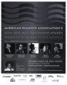 2014-2015 Jazz Fellowship Awards mailer