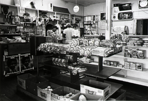 """Jules' Grocery Store and Market, 1326 33rd, Galveston, Texas, from """"The Corner Stores of Galveston,"""" Galveston County Cultural Arts Council"""