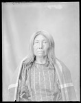 Comanche Indian woman, U. S. Indian School 1904