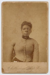 Portrait of a Young, Short-Haired, African American Woman