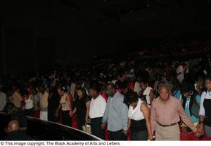 Audience Praying Hip Hop Broadway: The Musical