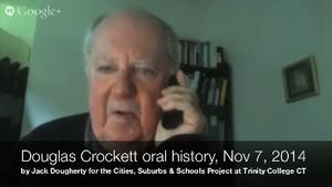 Douglas Crockett, Oral history interview on 1970s Lumpkin school desegregation