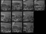 Set of negatives by Clinton Wright including NAACP Voter Registration at Gilbert, and Negro History Program at Kit Carson, 1971