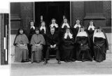 Sisters of Charity School opening, Fushimi, Kyoto, Japan, April 11, 1949