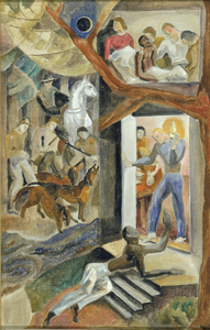 The Fugitive Slave (mural study)