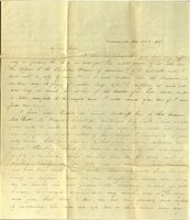 Letter from Charlotte to Samuel Cowles, 1839 October 29.