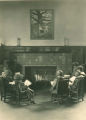 Quincy branch library, Cleveland,Ohio: childrens room fireplace, 1936