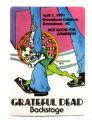 Backstage pass, Grateful Dead concert, 1991