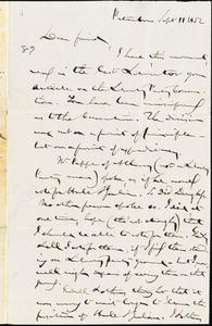 Letter from Gerrit Smith, Peterboro, [New York], to William Lloyd Garrison, 1852 Sept[ember] 11