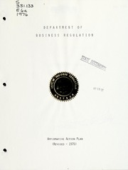 Affirmative action plan, 1976