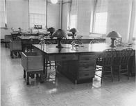 Laboratory of Biology/Geology building, 1954