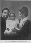 Rev. and Mrs. Charles S. Morris and baby