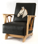 Ranch-style rocking chair