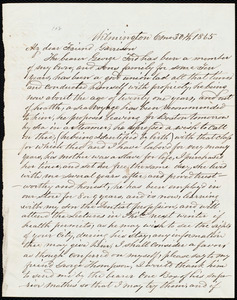 Letter from Thomas Garrett, Wilmington, [Delaware], to William Lloyd Garrison, 6 mo[nth] 30th [day] 1865