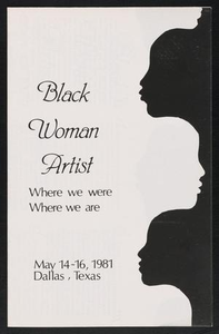 Program for Black Woman Artist Black Woman Artist - Where we were - Where we are: A CONFAB
