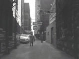 Printer's Alley, Nashville, Tennessee, 1958 February
