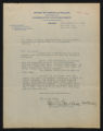 Documents regarding the daily administration and operation of Fort Macon State Park, 1939