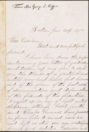 Letter to] Best and ever faithfull friend [manuscript