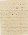 Letter from James A. Hall in camp near Chattanooga, Tennessee, to his father, Bolling, in Alabama.