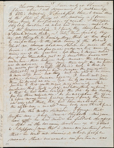 Incomplete letter from Caroline Weston, Chauncy Place, [Boston, Mass.], to Maria Weston Chapman and Henry Grafton Chapman, [1841]