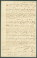 Emancipation bond for Venus, Francis, and Marguerite, who were freed by an act of the General Assembly of Alabama on December 2, 1824.