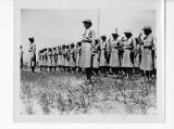 Swearing WACs into the army