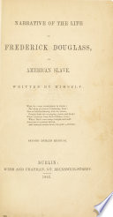Thumbnail for Narrative of the life of Frederick Douglass, an American slave.