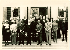 Board of directors of the encyclopedia of the Negro