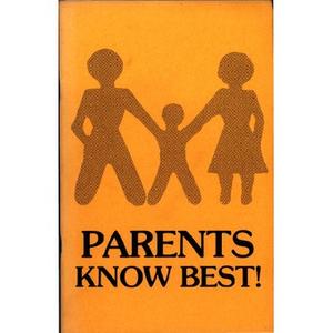 Parents know best!
