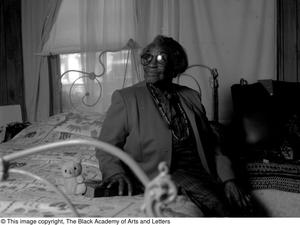Photograph of Osceola Mays in her bedroom Dallas/Fort Worth Black Living Legends Dallas/Fort Worth Black Living Legends, 1991