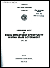 A program audit of equal employment opportunity in Utah state government