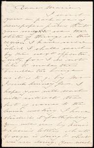 Letter from Deborah Weston to Maria Weston Chapman, [ca. 1851 Feb. 5]