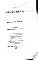 The silent harp : or, Fugitive poems