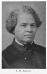 J. W. Loguen; [A bishop of the Zionites and an abolitionist.]
